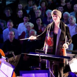 Maestro TU/e door Studium Generale met studentensymfonieorkest Ensuite van ESMG Quadrivium en deelnemer studente Evelien Nieuwenburg